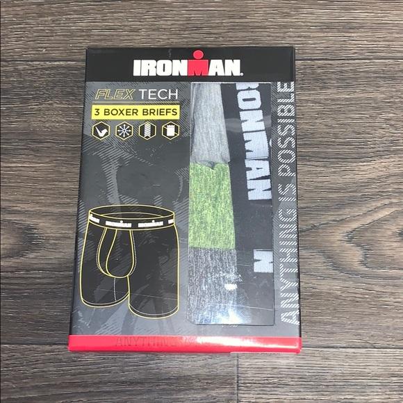 Ironman Flex Tech Boxer Briefs 3 Pack